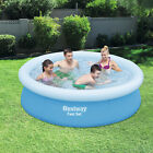 78x20 Large Inflatable Swimming Pool Garden Summer Outdoor Family Kids