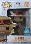Funko Pop Games Mccree #516 Overwatch SDCC Shared Summer Exclusive IN HAND