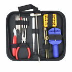 16pcs Watch Repair Tool Kit Link Remover Spring Bar Tool Case Opener Set