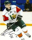 Halifax Mooseheads Nathan MacKinnon Autographed Signed 8x10 Photo COA ELEVEN