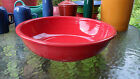 FIESTA 4 QUART LARGE PASTA/CHIP BOWL scarlet red NEW