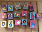 Disney Princess wood mounted rubber stamps Nemo and more