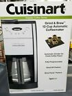 Cuisinart Grind  Brew DGB 550BK 12 Cups Coffee Maker Black