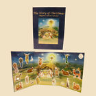 Kurt Adler Magnetic Nativity Book Advent Calendars