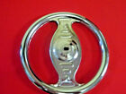 CHROME PEDAL CAR TRACTOR STEERING WHEEL VINTAGE MURRAY INSTEP 7 1 4