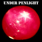 1949 CT NATURAL PINK MADAGASCAR 6 RAYS STAR RUBY GLASS FILLED OVAL CABOCHON