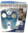 Conair Active Life Waterfall Foot Spa Blue Relaxing Massage Home Therapy