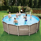 Volleyball Net For Pool Kit Water 10 to 20 Ft Metal Frame Above Ground Swim Best