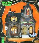 Lemax Spooky Town Village Lilith's Creepy Doll Shop Lighted and Sounds New