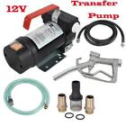 Portable 12v 155w Electric Diesel Oil and Fuel Kerosene Transfer Extractor Pump