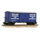 Bachmann 393-029 Bogie Covered Goods Wagon Express Dairy Company Blue 009 Gauge