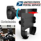 12-24V Phone USB Fast Charger Bracket For Motorcycle Moped Scooter Handlebar USA