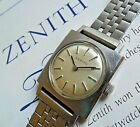 Clean Vintage 1970's S/S Lady's Zenith Swiss Mechanical Watch ALL ORIG. Runs