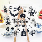 Halloween DIY Transparent Silicone Clear Stamps Scrapbooking Album Cards Deco CO