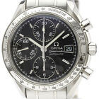 Polished OMEGA Speedmaster Date Steel Automatic Mens Watch 3513.50 BF339177