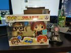Funko Pop Carl and Ellie 2 Pack Disney Up SDCC Exclusive Brand New! IN HAND