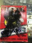 1984 GREMLINS BOX OF 36 PACKS OF MOVIE PHOTO CARDS WITH STICKER AND GUM,UNOPEN