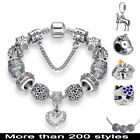 Bracelet Silver Charms Fit European Beads 925 Fashion Cute Jewelry Lots Chain