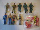 Action Figures mix Lot small sizes Labot 1980s Star Wars GI Joe unbranded