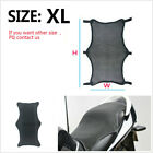 3D Black XL Size Motorcycle Scooter Cool Seat Cover Protector Insulation Cushion