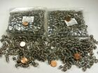 Two Pounds India Oval Fancy Handmade India Glass Beads Clearance Lot BN 3
