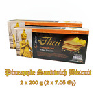Pineapple Jam Paste Filled Sandwich Cheesecake Cookies Biscuits Boxes 2 x 7.05Oz