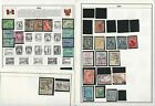 Peru  Philippines Stamp Collection on 18 Harris Album Pages