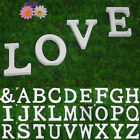 New Large 26 Wooden Alphabet Letters Wall Hanging Nursery Decor Alphabet WD