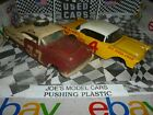 BUILT MODEL CAR 2 OLDER BUILT CHEVY STOCK CAR PROJECTS BUILT OR PART DIORAMA