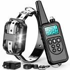Electric Remote Dog Training Shock Collar 2600ft Control FOR Small Large Big Dog