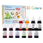 Liquid Color Candles Soap Coloring Making Kit Arts Craft Supplies Squeeze Bottle