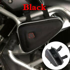 Saddle Storage Bag Engine Guard Mount Case Pouch Black For BMW R1200GS F800GS