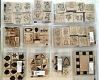 STAMPIN UP RUBBER STAMPS 1992 2000 LOT