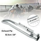 20 Motorcycle Exhaust Muffler Pipe Silencer Universal Fits Harley Cafe Racer