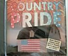CD Country Pride Various Artists Nelson, Cash, Daniels, and more. New Sealed!