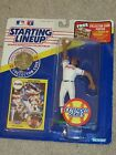 1991 MLB STARTING LINEUP-DAVE JUSTICE-EXT SERIES FIGURE W/ CARD
