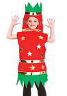 Kids Cracker Childrens Christmas Fancy Dress Costume Nativity Play Outfit