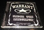 Warrant - Under The Influence CD Rare OOP 2001 Jani Lane Downboys Records Perris