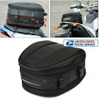 Motorcycle Rear Tail Seat Back Saddle Pack Shoulder Bag Waterproof With Cover US