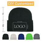 Personality customization Embroidery Knitted Winter Hat Cotton unisex Warm Hat