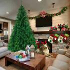 55 6 7 8 Feet Unlit Artificial Christmas Pine Tree with Sturdy Mental legs