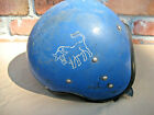 Original USSR CCCP Vintage Motorcycle Scooter Moped Riga Helmet with Buffalo 407