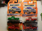 Matchbox 56 Ford Pickup TRUCK LOT 4 1956 FORD PICK UP TEXACO FRESH PRODUCE RED