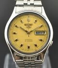 Authentic Vintage Seiko 5 Automatic 21 Jewels CAL.7019A Day Date Men's Watch