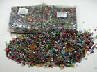 2 Pounds Assorted India Glass Spacer Beads Wholesale Bulk Lot 2mm 3mm x 6mm 7mm