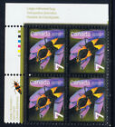 Canada 240821 2010 7 ct INSECTS LARGE MILKWEED BUG Upper Left Plate Blk MNH