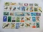 World Wide Topical Collection of BIRD stamps off paper 9 B30