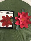 Sizzix Metal Die Poinsettia Holiday Christmas Decoration Scrapbook Cards