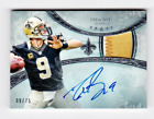 2013 Topps Five Star DREW BREES Autograph Patch #9 75 1 1 Jersey Number