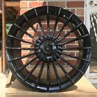 20 GLOSS BLACK WHEELS BMW B7 ALPINA STYLE 7 SERIES 740IL 745IL 750IL 760IL